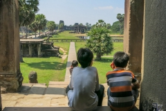 Angkor Wat - Unter uns