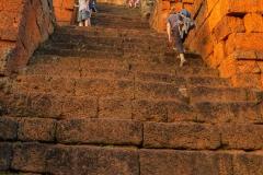 Prae Roup Temple - Besteigung