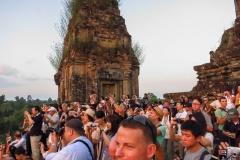 Prae Roup Temple - Sonnenuntergangspuplikum