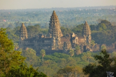 Ankor Wat vom Phnom Bakheng