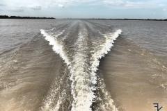Mekong - Heckwelle