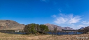 Kilchurn Castle am Loch Awe im Panorama