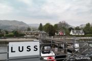 In Luss am Ostufer des Loch Lomond