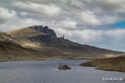 Old Man of Storr bei Tag.