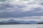 Skye Bridge mit Cuillins.
