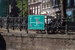 Amsterdam-Grachtenkreuzung