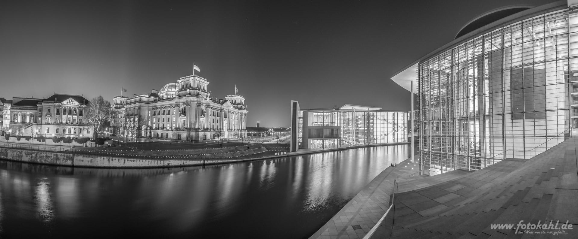Reichstag - Paul-Löbe-Haus - Marie-Elisabeth-Lüders-Haus