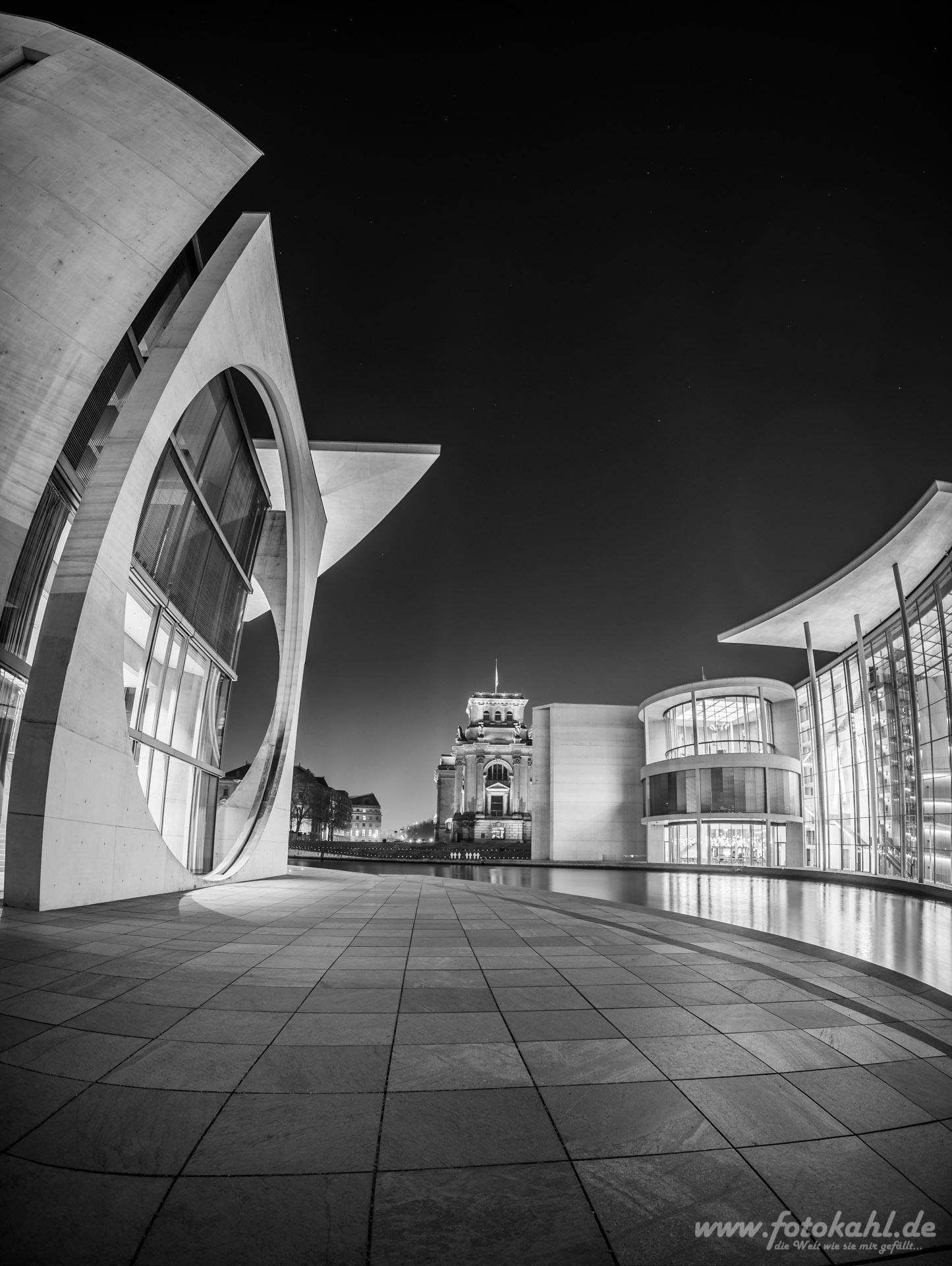 Marie-Elisabeth-Lüders-Haus / Reichstag / Paul-Löbe-Haus