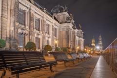 Dresden - Auf der Brühlschen Terasse