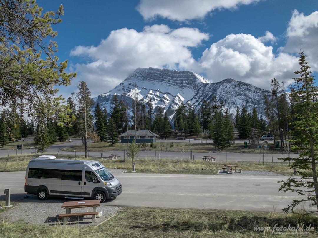 Kanada - Banff - Tunnel Mountain Village II Campground