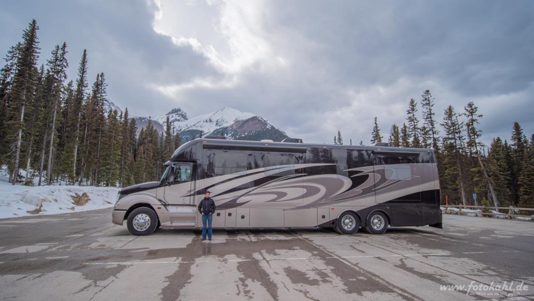 Kanada - Campervan für Reiche