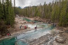Kanada - Natural Bridge mit Touristen