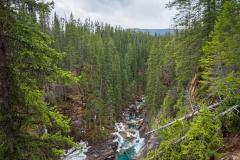 Kanada - Natural Bridge - Am Abgrund
