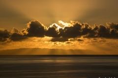 Sonnenaufgang über den Ilhas Desertas.