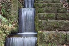 Eine Treppe Treppe.