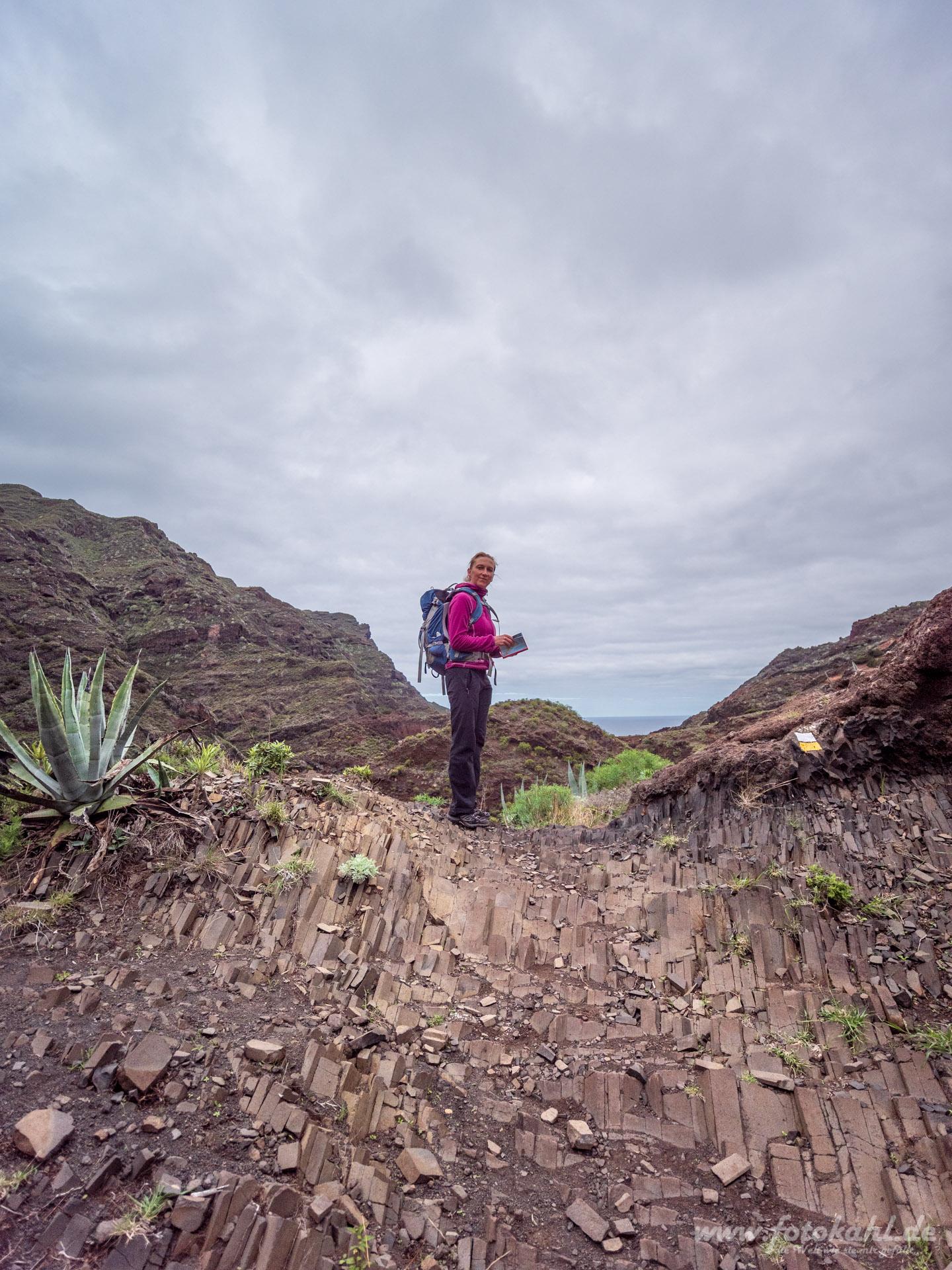 Teneriffa - Wandern im Anagagebirge -Afur