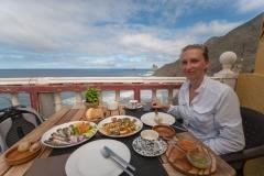 Teneriffa - Restaurant El Mirador am Playa de Benijo