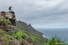 Teneriffa - Wandern im Anagagebirge -in El Cardonal