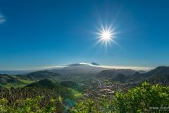 Teneriffa - Mirador De Jardina mit Blick zu Teide