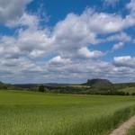Blick auf die Festung Königstein und dem Lilienstein
