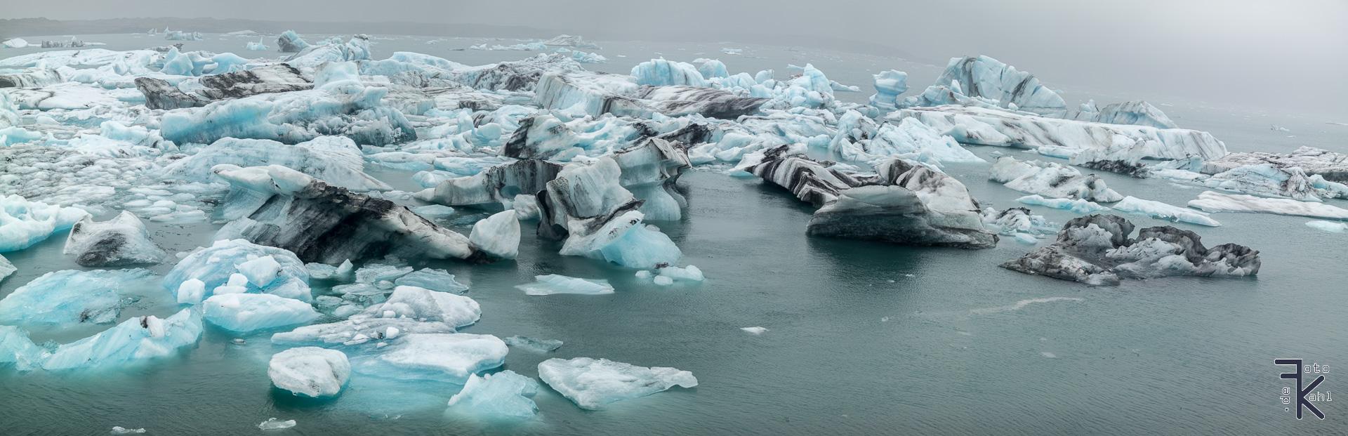 Island - Gletschersee Jökulsárlón